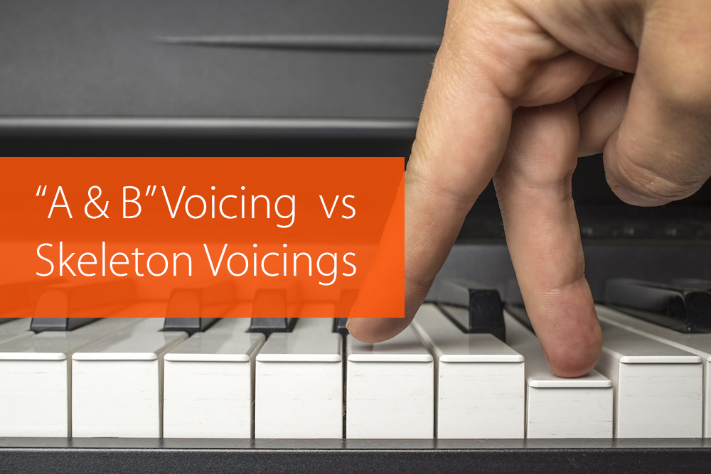 "Thumbnail image for 2-5-1 Progression: ""A & B"" Voicing Technique vs Skeleton Voicings"