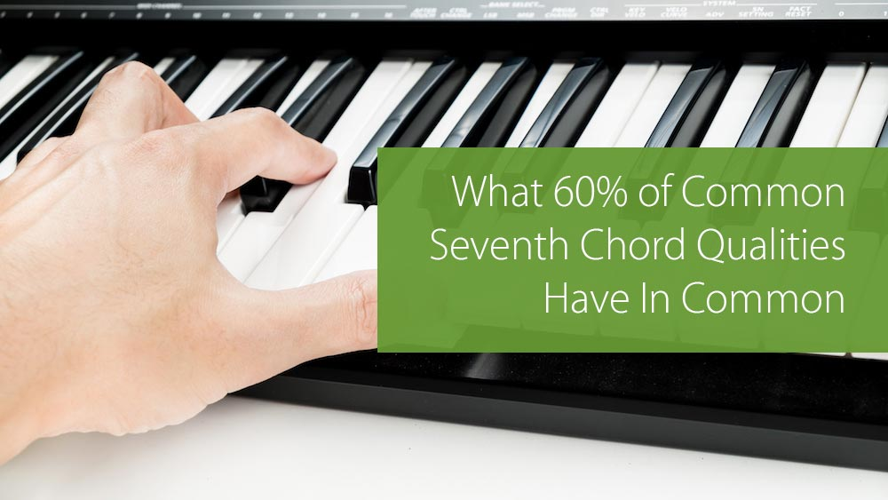 seventh chord qualities