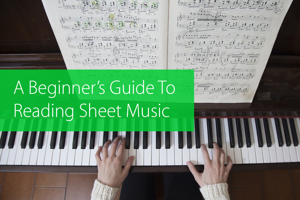 reading sheet music