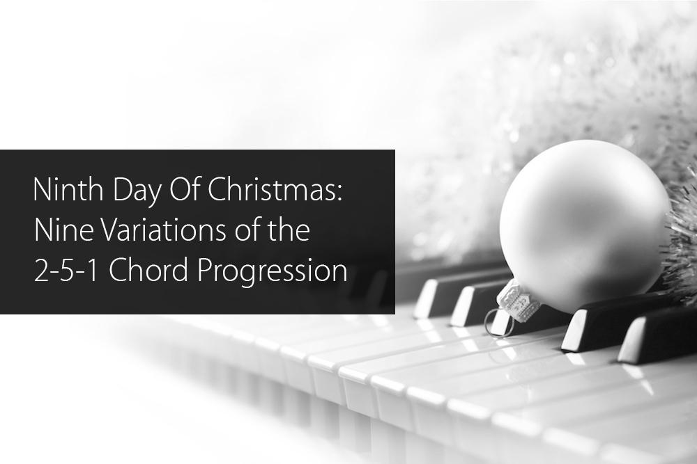 2-5-1 chord progression