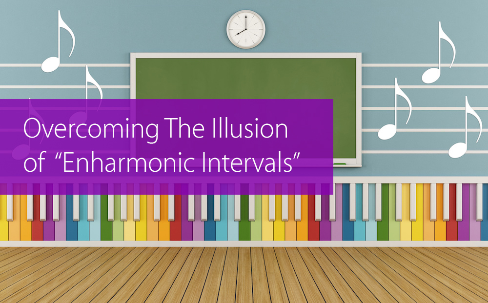 enharmonic intervals