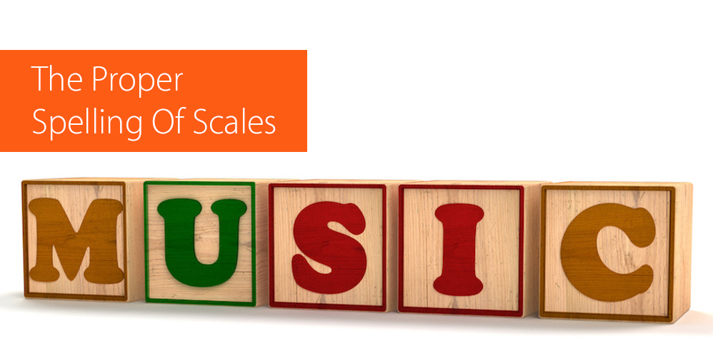 spelling of scales