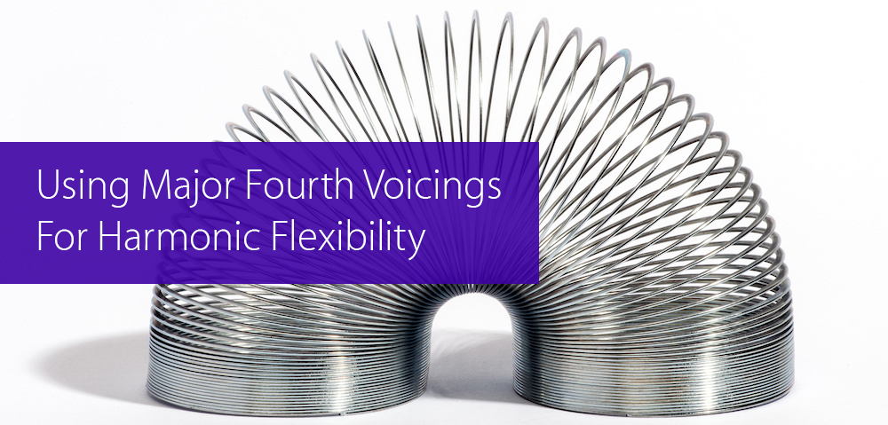 fourth voicings