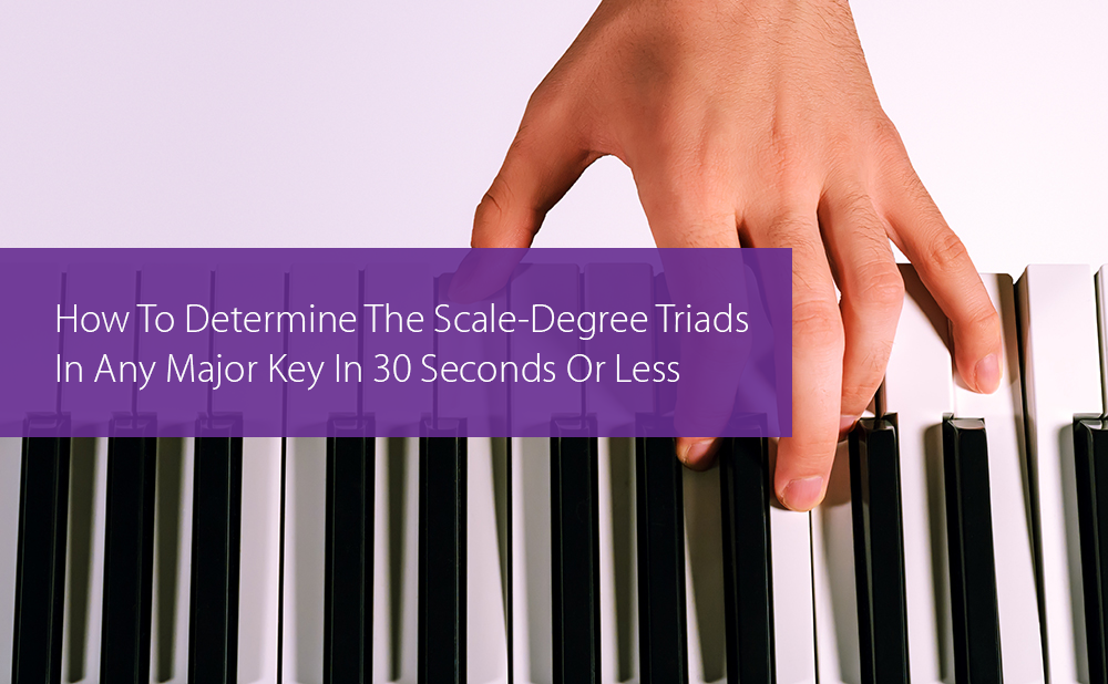 Thumbnail image for How To Determine The Scale-Degree Triads In Any Major Key In 30 Seconds Or Less