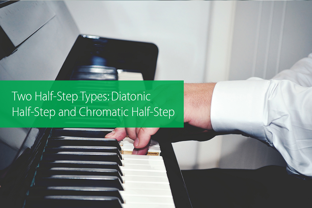 Post image for Two Half-Step Types: Diatonic Half-Step and Chromatic Half-Step