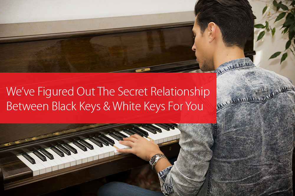Post image for We've Figured Out The Secret Relationship Between Black Keys And White Keys For You