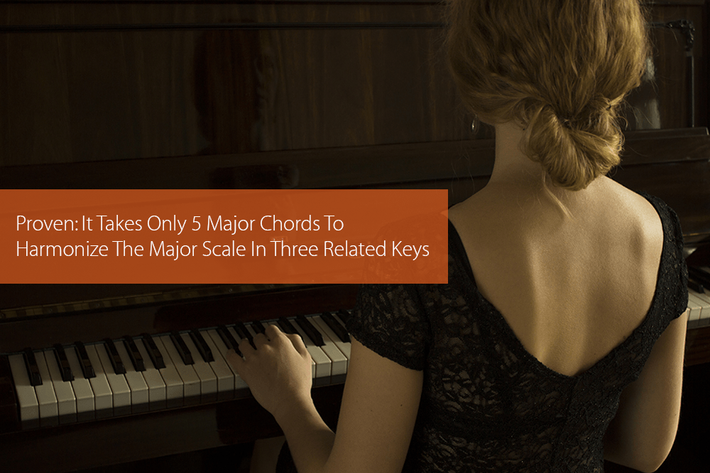 Thumbnail image for Proven: It Takes Only 5 Major Chords To Harmonize The Major Scale In Three Related Keys